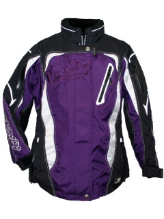 Choko Racing jacket black/white/purple
