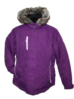 womens jacket purple