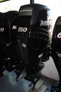 Mercury 150L VERADO FourStroke Outboard Motor. Call Watertown 'Sales' 204.345.6663
