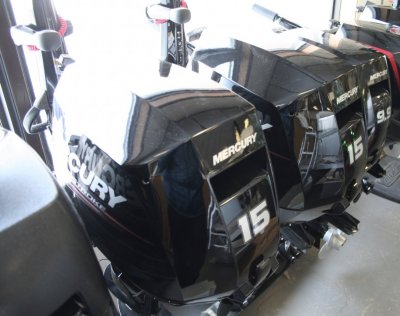 2018 Mercury 15MH FourStroke Outboard Motor New  MB-152
