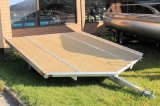 Bear Track 12' V-Front Snowmobile Trailer. Available options include salt shield ramp and E-Z Guides