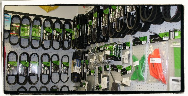 Arctic Cat belts in stock