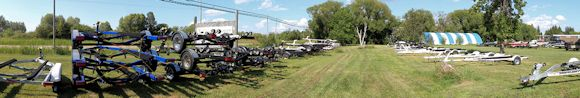 Boat, Pontoon and Utility Trailers at Watertown